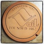 Vail Manhole Cover Doormat RUST